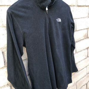 The North Face fleece black pullover